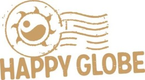 happy globe logo